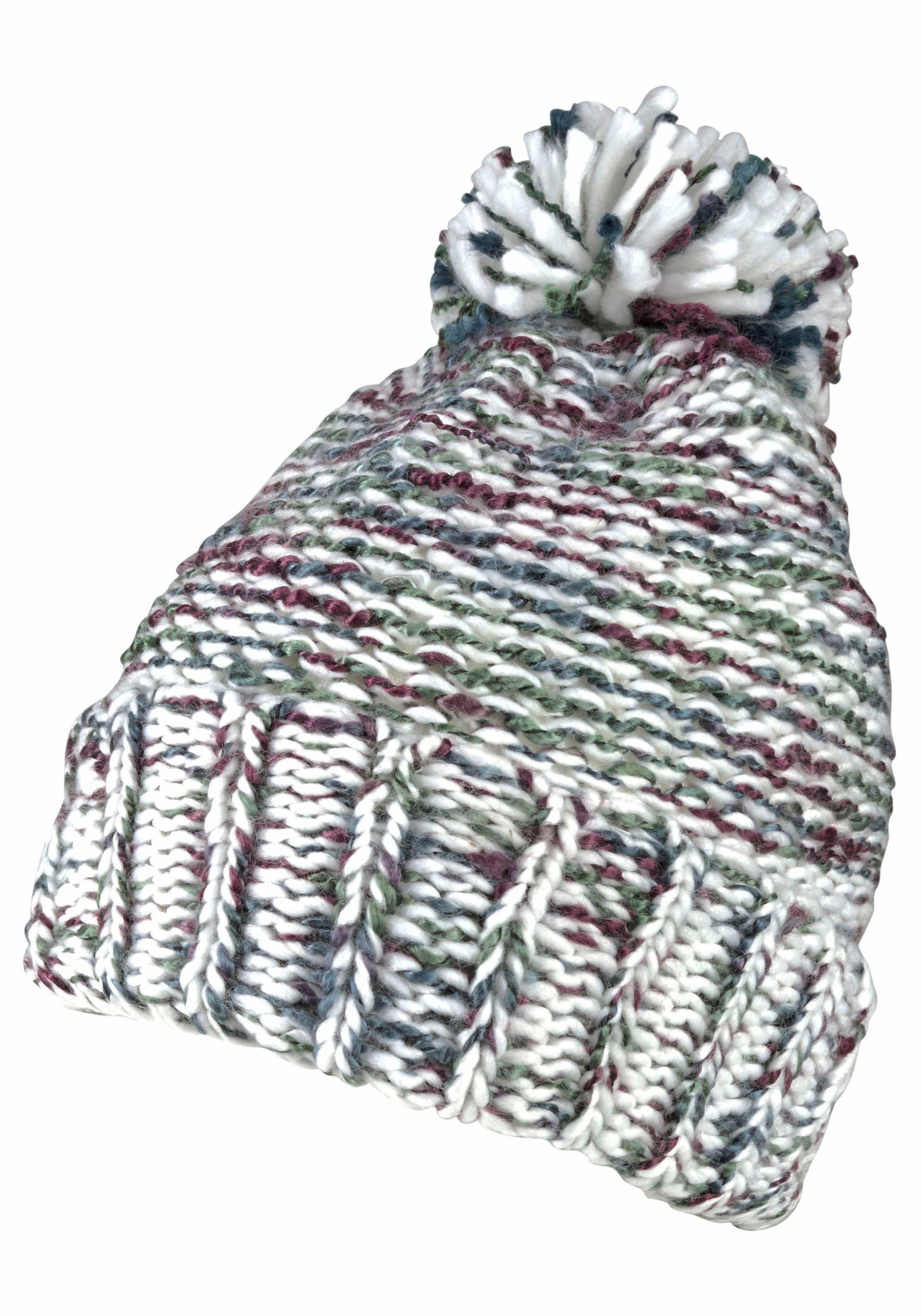 J.Jayz Bommelmütze Wintermütze multicolor, Pudelmütze mit Bommel
