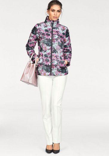 Bruno Banani Steppjacke, mit aufregendem floralem Alloverdruck
