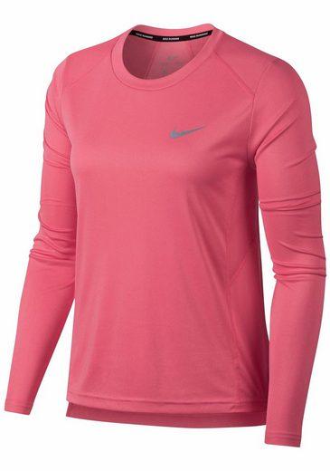 Nike Laufshirt Dry Miler Top Longsleeve