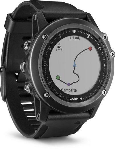 Garmin GPS-Multisportuhr »fenix 3 Saphir HR«