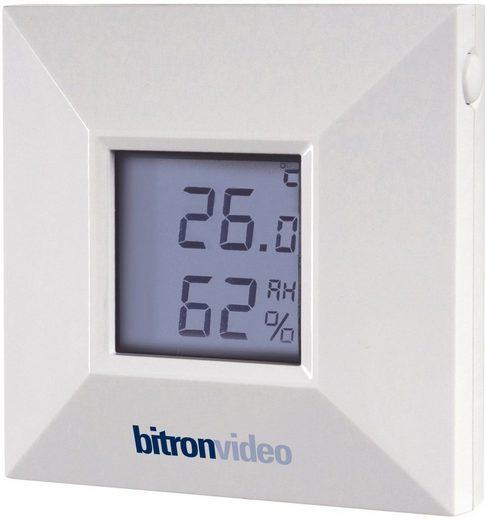bitronhome Smart Home Zubehör »Temperatur- und Luftfeuchtigkeitssensor m. Display«