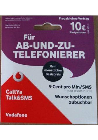 VODAFONE CallYa-Prepaid-Karte »Talk&SMS su 10 E...