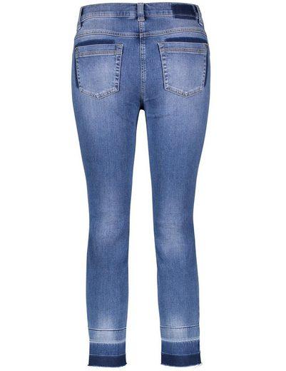 Gerry Weber Hose Jeans verkürzt Skinny Jeans in 7/8 Länge