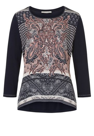 Betty Barclay Shirt With Placed Print And Light Shine