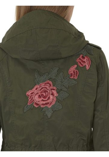 Betty Barclay Jacket In Casual Style And Floral Embroidery
