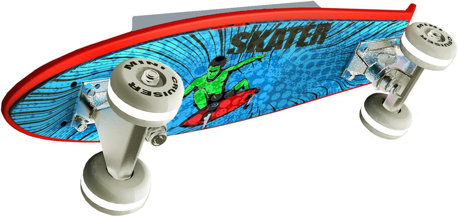 EVOTEC LED Wandleuchte »Skateboard MINI CRUISER«, 5-flammig