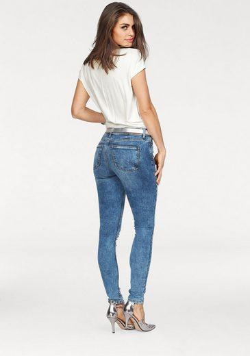 Vero Moda Skinny-fit-jeans Seven Piping