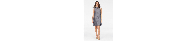Laura Scott A-Linien-Kleid, mit effektvollen Plisseefalten