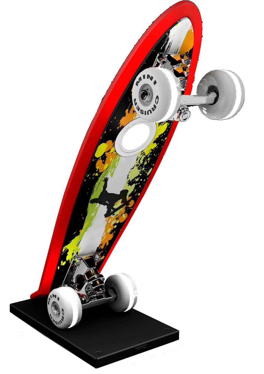 EVOTEC LED Tischleuchte »Skateboard MINI CRUISER«, 1-flammig