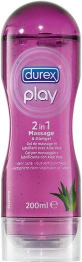 durex Gleit- und Massagegel »2 in 1 Massage«, auf Wasserbasis