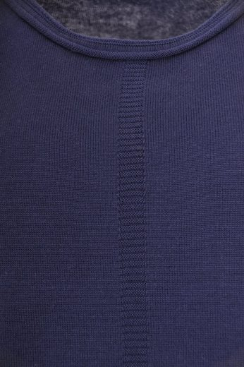NAVIGAZIONE 3/4 Arm-Pullover, tolle Passform, Materialmix, Strukturmix