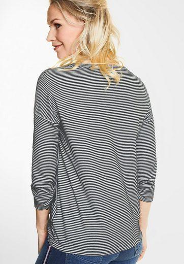 CECIL Weiches Shirt mit Streifen