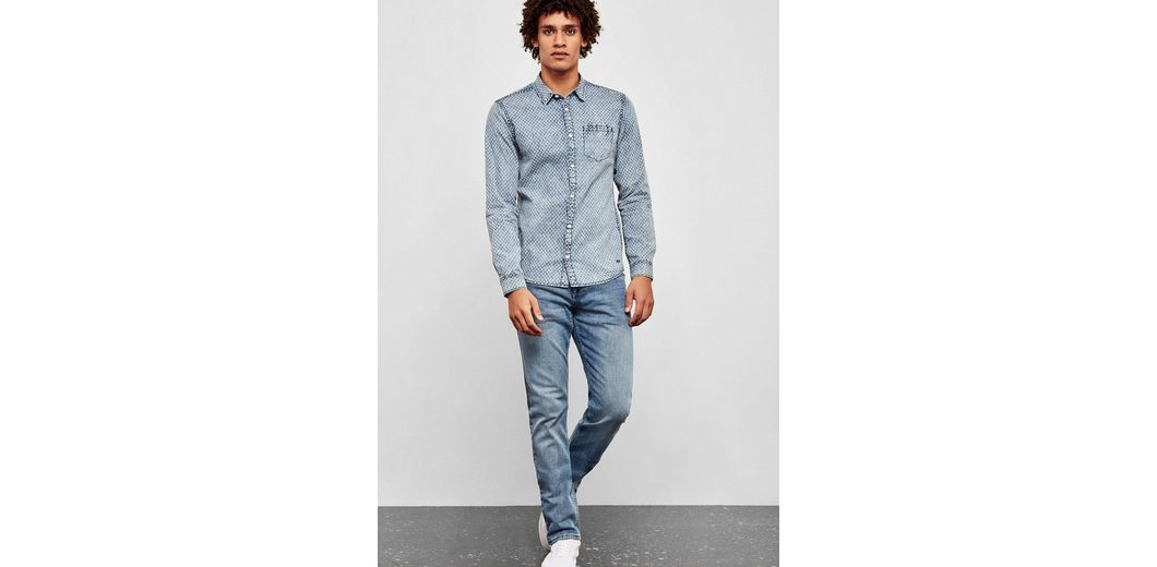 Billige Sast Billig Verkauf Bestseller Q/S designed by Pete Regular: Jeans mit Wascheffekten fqL39bn0