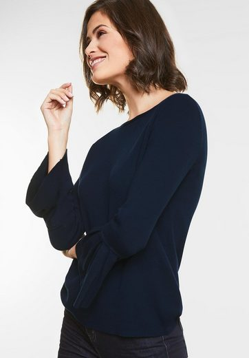 Street One Pullover Street Mit One Mit Volants Pullover nTExqvqdw