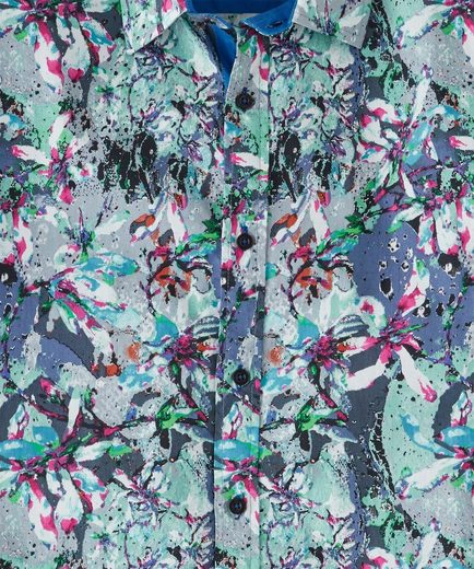 Joe Browns Langarmhemd Joe Browns Mens Long Sleeve Shirt With Floral Print