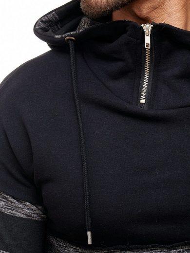 REDBRIDGE Herren Sweatshirt mit Layering-Look