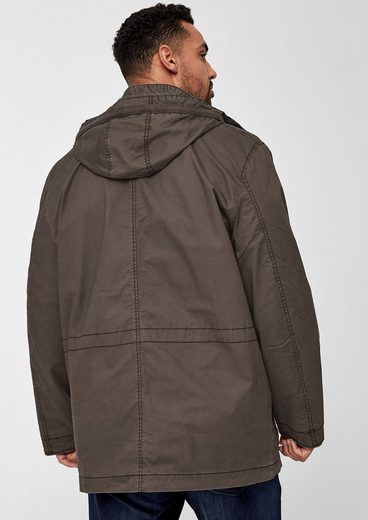 s.Oliver RED LABEL Twill-Parka mit Field-Optik