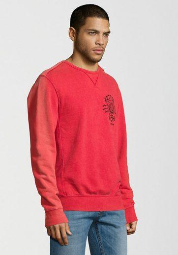 Better Rich Sweatshirt UNIVERSITY ACID, Vintage-Färbung