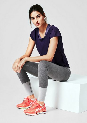 s.Oliver ACTIVE Colour-Blocking Sport Tights
