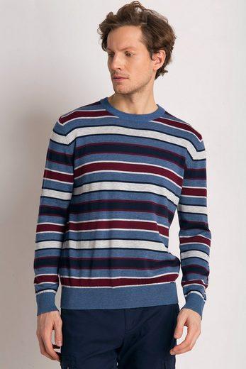 Finn Flare Pullover mit gestreiftem Design