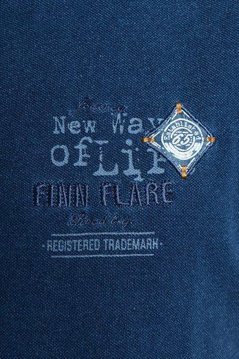 Finn Flare Poloshirt mit schönen Details