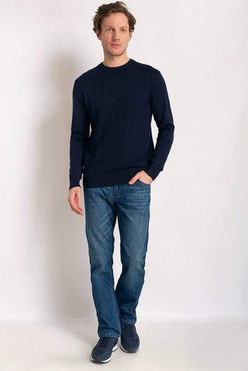 Finn Flare Sweater With A Classic Crew-neck