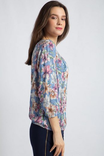 Finn Flare Bluse mit floralem Muster