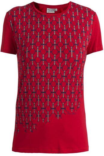 Finn Flare T-Shirt mit schönem Design