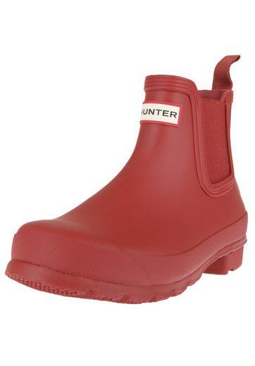 Hunter Original Chelsea Rubber Boot Logo