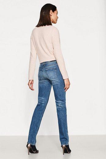 EDC BY ESPRIT Stretch-Jeans mit doppeltem Knopf