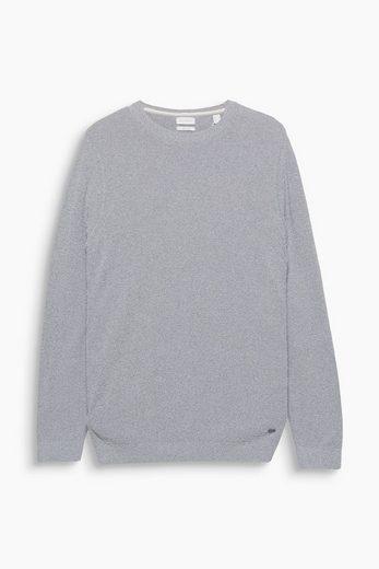 ESPRIT COLLECTION Sportiver Pullover aus Bouclé