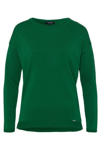 MORE&MORE Pullover, Oversize, club green