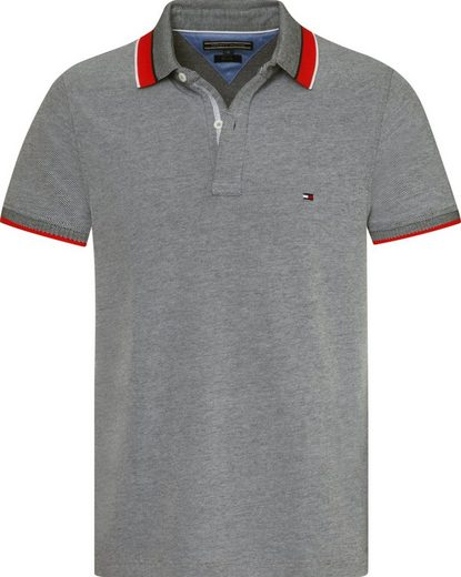 Tommy Hilfiger Poloshirt OXFORD TIPPED SLIM POLO