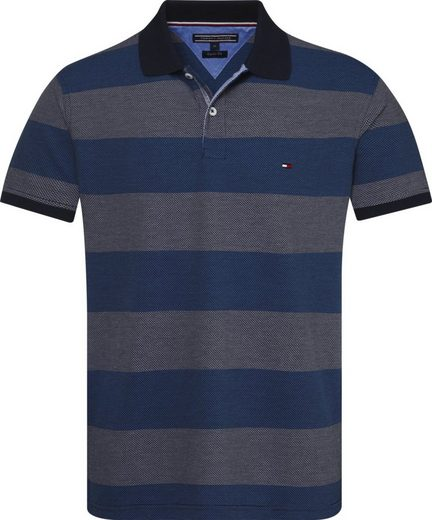 Tommy Hilfiger Poloshirt JACQUARD STRUCTURE STRIPE POLO