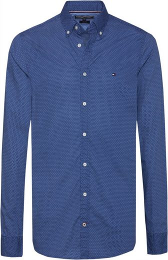 Tommy Hilfiger Hemd SLIM WONDERFUL MULTI PRINT SHIRT