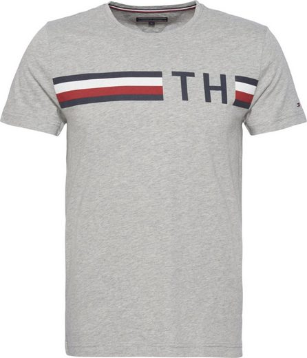 Tommy Hilfiger T-Shirt STRIPED LOGO GRAPHIC TEE