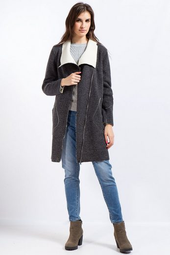 Finn Flare Leisure Coat With A High Collar