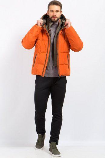 Finn Flare Daunenjacke mit doppeltem Reißverschluss