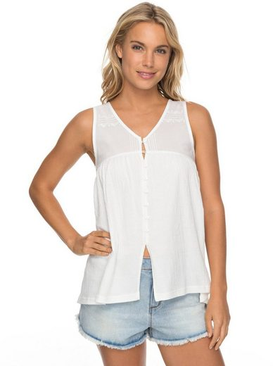 Roxy Top mit Knopfleiste Delila Lace