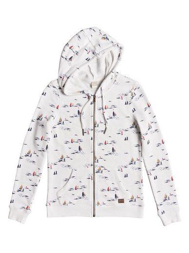 Roxy Hooded Sweatshirt With Zipper Trippin