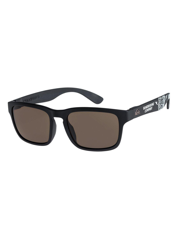 Quiksilver Sonnenbrille »Summit«, bunt, black/brown