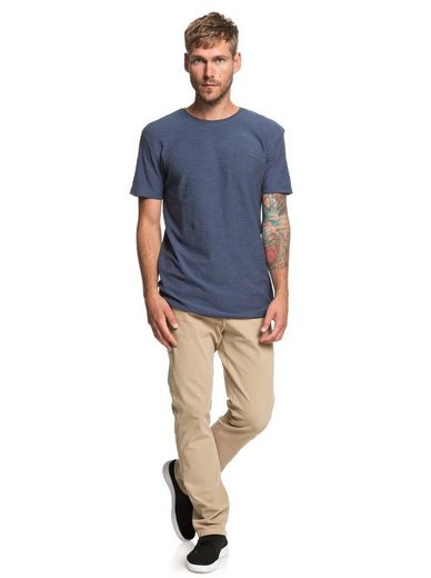 T Quiksilver »ken Tin« Blue shirt v0mwN8On
