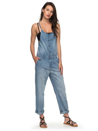 Roxy Denim Riemchen-Jumpsuit Cosy