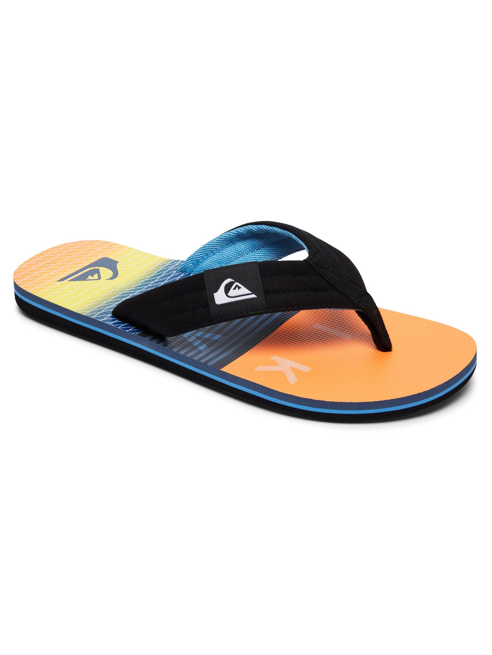 Quiksilver Zehentrenner Molokai Layback kaufen  Black#ft5_slash#orange#ft5_slash#blue