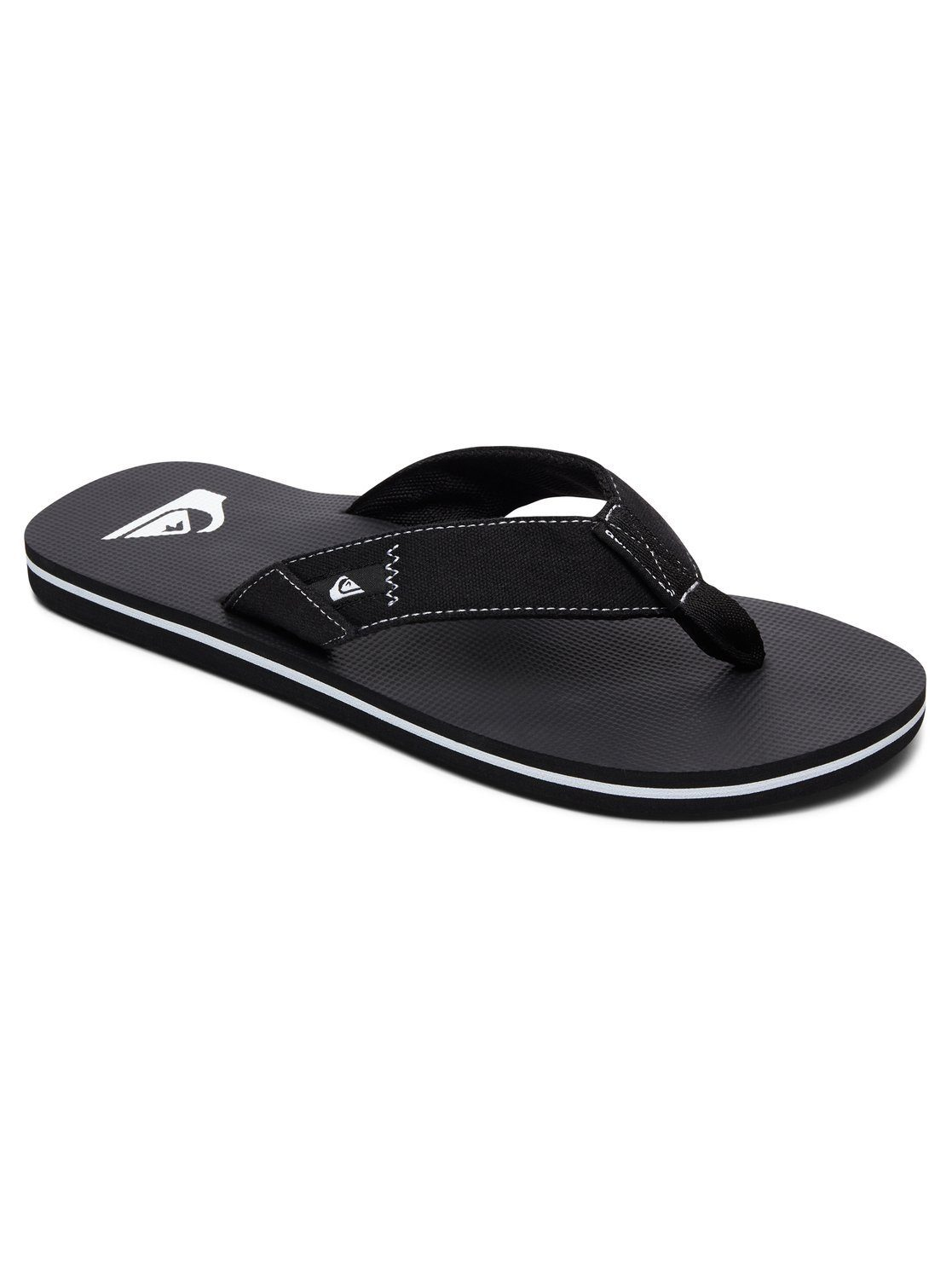Quiksilver Sandalen Molokai Abyss online kaufen  Black#ft5_slash#black#ft5_slash#white