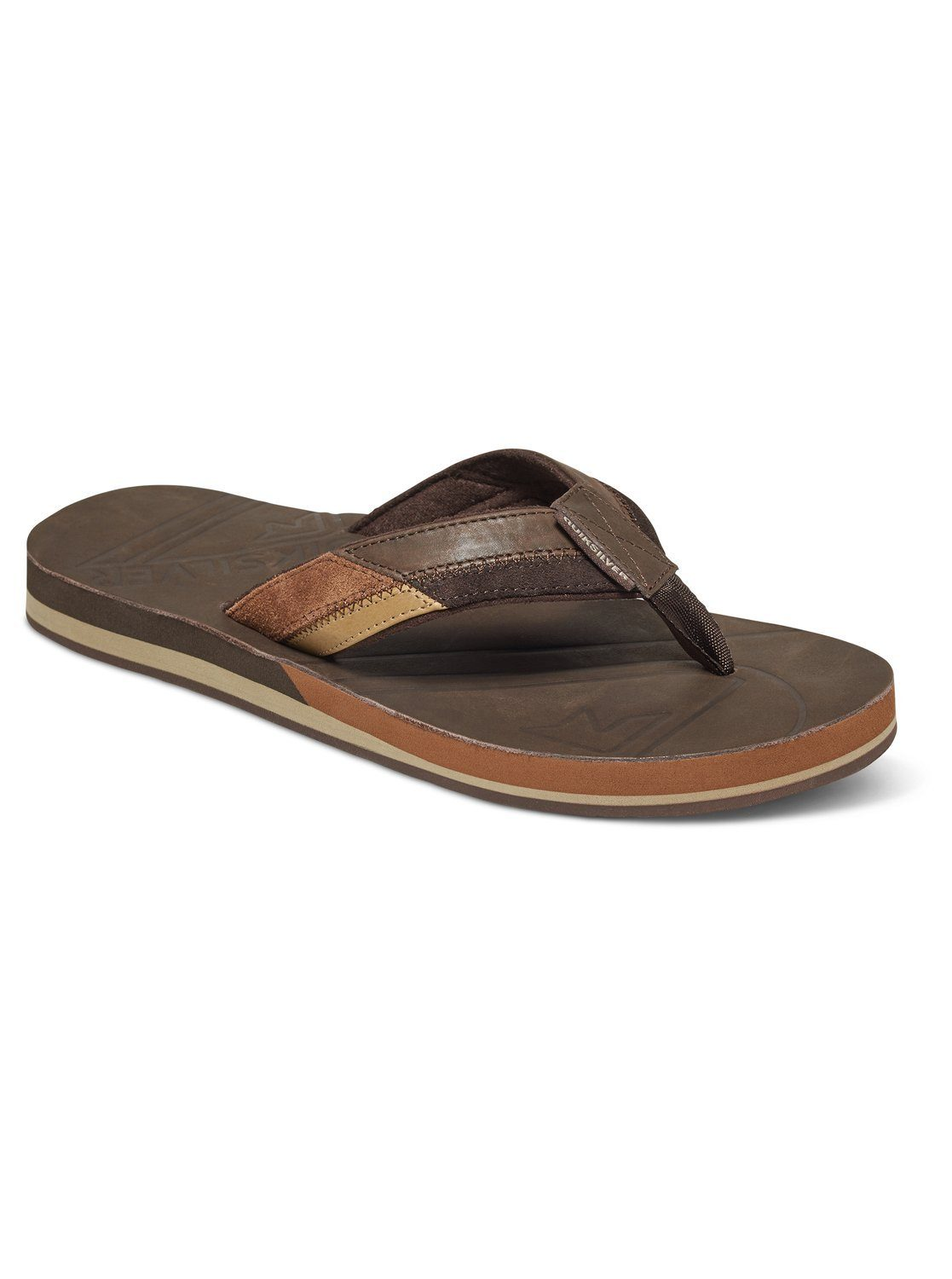 Quiksilver Sandalen Hiatus online kaufen  Brown#ft5_slash#black#ft5_slash#brown