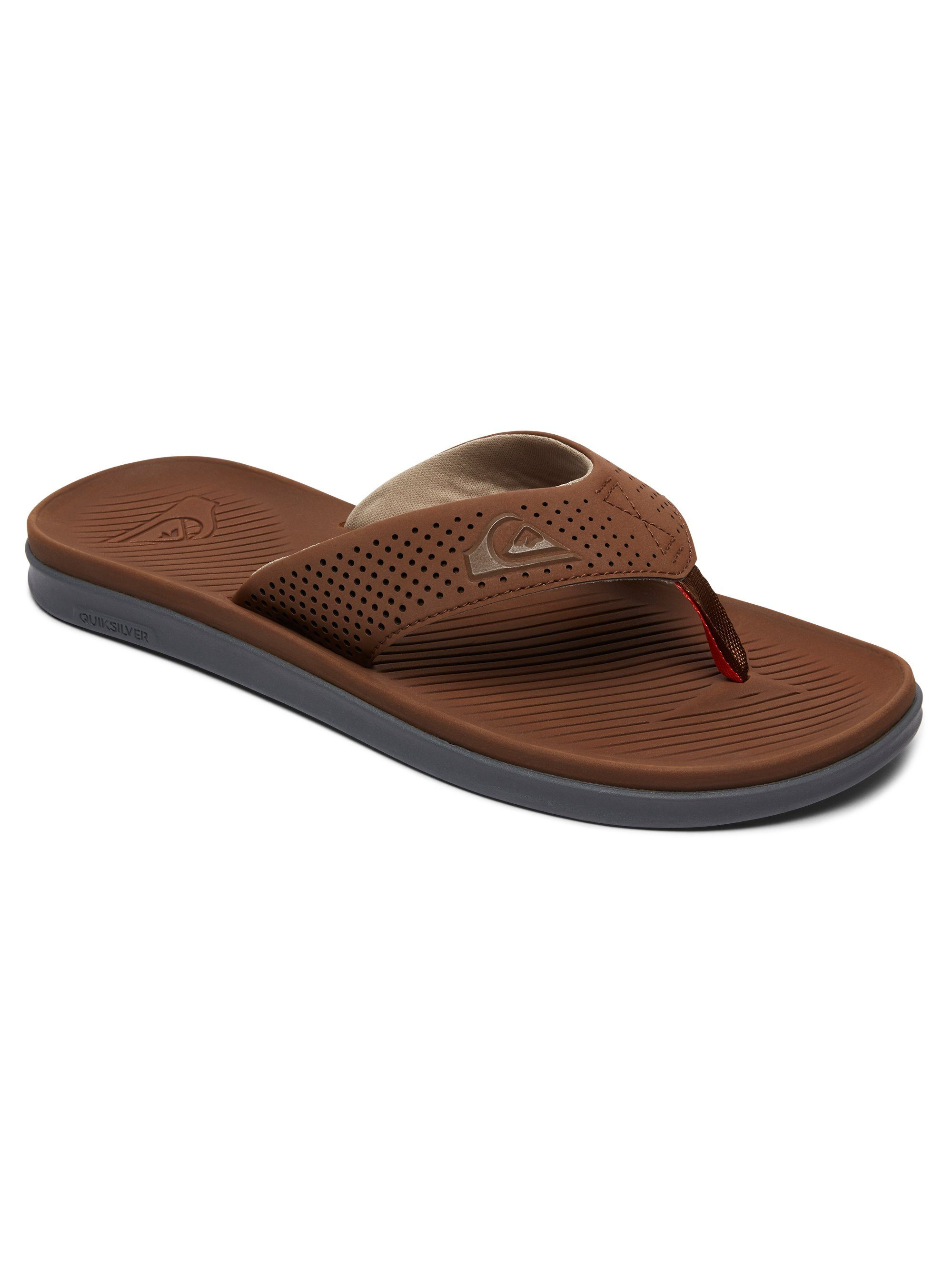 Quiksilver Sandalen Haleiwa Plus online kaufen  Brown#ft5_slash#brown#ft5_slash#orange