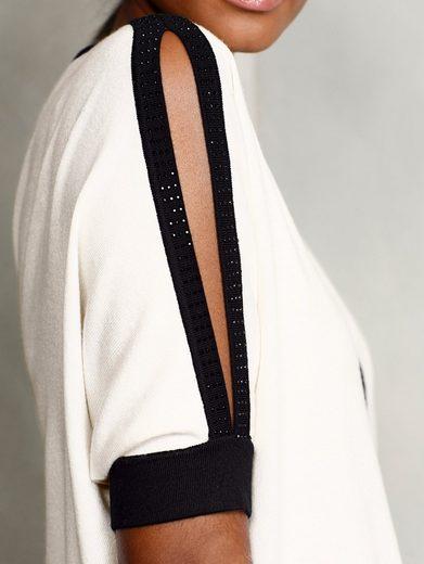 Alba Moda Pullover mit modischen Cut-Outs