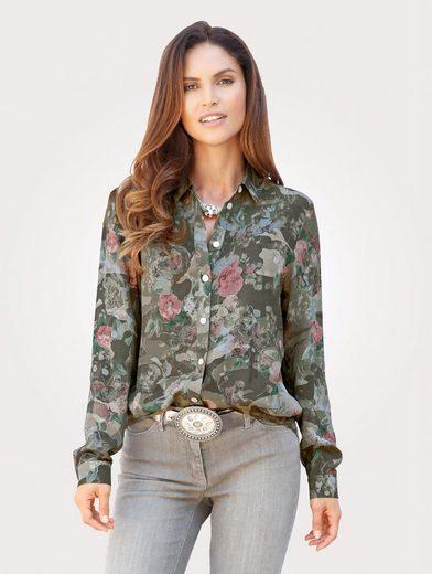 Mona Bluse mit floralem Druck