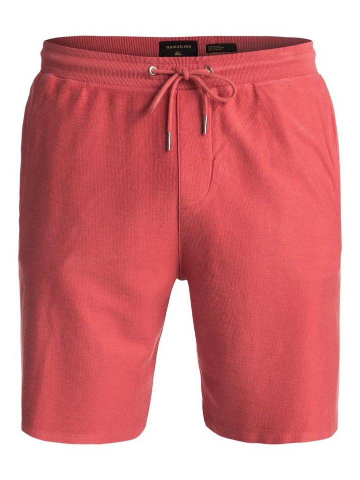 Herren Quiksilver Sweat Shorts Baao rosa   03613373369666